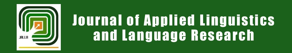 Journal of Applied Linguistics and Language Research